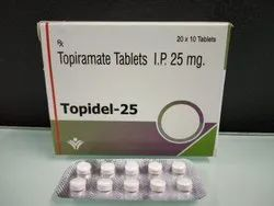 Topirate Tablets I.P. 25 MG.