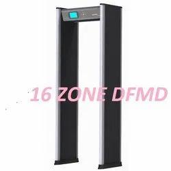 Multi Zone Door Frame Metal Detector Safegate 16Z