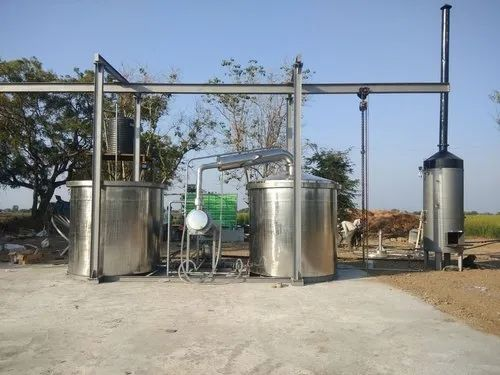 Aromatic Oil Distillation Plant - In SS