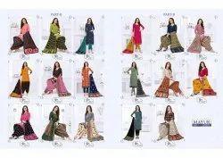 Printed Multicolor Mayur Creation Khushi Vol 56
