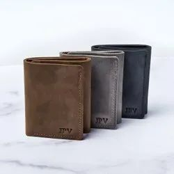 Trifold Leather Wallet, Card Slots: 8 Slots