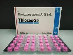 Thiozex Tablets IP 25 mg