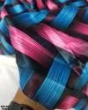 Double Color Flora Satin Silk Digital Print Fabric