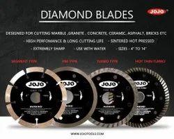 Jojo 4 Inch Diamond Saw Blades, For Marble & Granite Cutting, 9