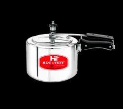 Hot & Tuff Inner Lid Aluminium Pressure Cooker, For Home, Size: 3 L
