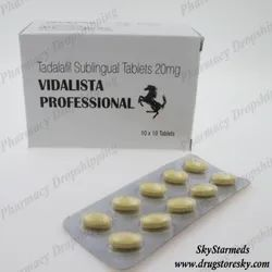 Vidalista Professional 20 Mg Tablet