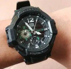 Black Digital G Shock Watch For Men