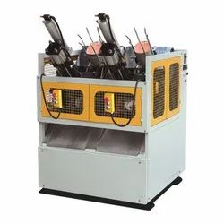Semi- Automatic Double Die Paper Plate Making Machine