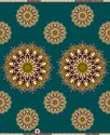 Cotton Super Wax Print Fabric, Multicolour