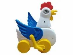 Kids Plastic Cock Toy, Child Age Group: Less Than 5 Years Old
