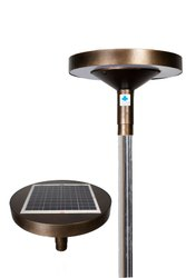 Solar Landscape Hybrid Round Lamp ( Solar + EB Supply)
