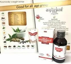 Ayurkof Cough Syrup, 100 ml