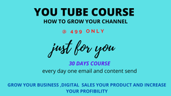 Part Time You Tube Coures Youtube Marketing Courses, Online