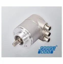 Serie CM10 Profibus Multiturn Absolute Solid Shaft Encoder