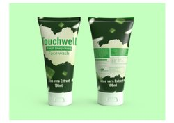 Touchwell Aloe Vera Extract Deep Clean Face Wash, Packaging Size: 100 Ml