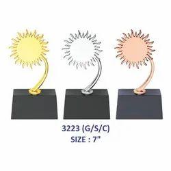 Metal Sun Trophy