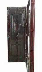 Standard Brown 50 MM Steel Single Door, For Home
