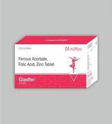 Ferrous Acorbate Folic Acid Zinc Tablet