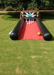 Inflatable Ball Pin game