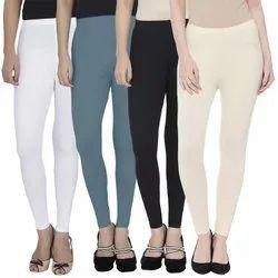 Eon Exports Cotton Fancy Ankle Length Leggings, Size: Free Size