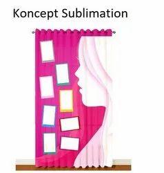Sublimation Blank  Curtain