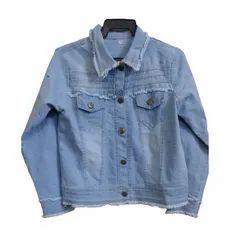 Blue Men Denim Jacket
