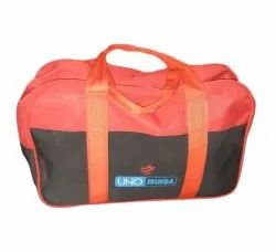 Polyester Orange Complimentary Travel Bag, Size/Dimension: 18 X 10 X 6 Inch