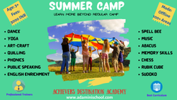 5 April Summer Camp For Kids In Bengaluru