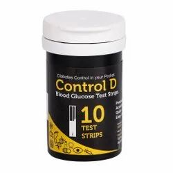 Plastic Control D 10 Test Strips, For Hospital
