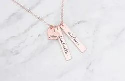Personalized Names On Necklace