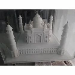 Carved White Marble Stone Art Work, For Decoration