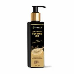 Cold Pressed Sesame Oil, For Hair, Packaging Size: 200ml