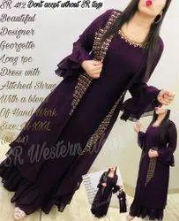 Long Dress With Shrug