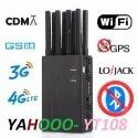 Portable Cell Phone Signal Jammer YT-108
