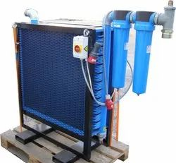 20 Bar Mild Steel Water Cooled Aftercooler, For Industrial
