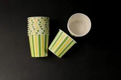 Disposable Printed Paper Cups, For Event and Party Supplies, Capacity: 85 Ml