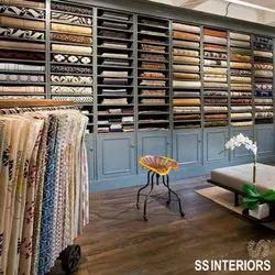 Textile Showroom Interior Designing