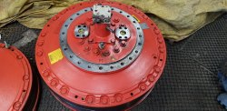 Hagglunds Hydraulic Motor Mb84 33800 Model