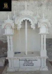 室内白色大理石家庭寺庙