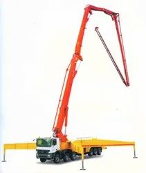 Concrete Pump With Boom Placer