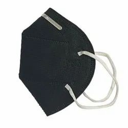 White And Black  N95 Without Respirator Reusable Face Mask, Number Of Layers: 5 Layer