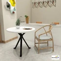 Home Texa Standard Wooden Center Round Table