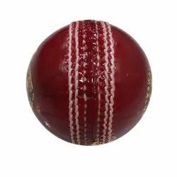League red Leather Cricket Ball