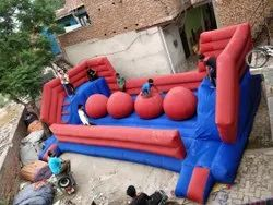 Inflatable 4 Ball Bouncy