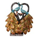 Resin Attractive Peacock Statue