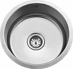 Stainless Steel Round Bowl Kitchen Sink