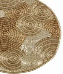 Golden Beaded Placemats