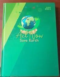 Save Planet Theme Diary