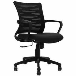 Leather Divine Office Chair, Black