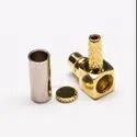 MMCX Male Right Angle Crimp Connector For RG316, RG174 Cable